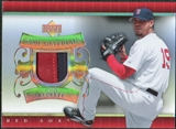 2007 Upper Deck UD Game Patch #BE Josh Beckett