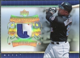 2007 Upper Deck UD Game Patch #CD Carlos Delgado