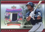2007 Upper Deck UD Game Patch #CL Carlos Lee