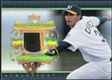 2007 Upper Deck UD Game Patch #EC Eric Chavez
