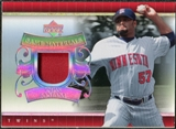 2007 Upper Deck UD Game Patch #JS Johan Santana