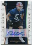 2007 Upper Deck Trilogy Rookie Autographs #169 Paul Posluszny Autograph /133