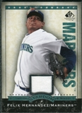 2008 Upper Deck SP Legendary Cuts Destination Stardom Memorabilia #FH Felix Hernandez