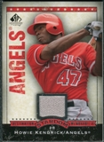 2008 Upper Deck SP Legendary Cuts Destination Stardom Memorabilia #HK Howie Kendrick