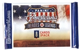 2012 Panini Americana Heroes & Legends Retail Pack