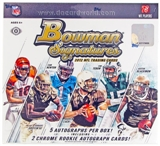 2012 Bowman Signatures Football Hobby Box - LUCK & WILSON ROOKIES!