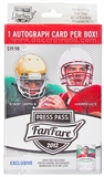 2012 Press Pass Fanfare Football Blaster Box