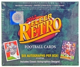 2012 Upper Deck Fleer Retro Football Hobby Box