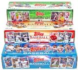 COMBO DEAL - Topps Baseball Factory Sets (2012, 2013, 2014)