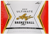 2012 Leaf Ultimate Draft Basketball Hobby Box