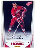 Gordie Howe Autographed 5x7 Photo 2012 The National Panini Private Signings