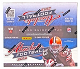 2012 Panini Absolute Football Retail 24-Pack Box - LUCK & WILSON ROOKIES!