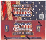 2012 Panini Americana Heroes & Legends 24-Pack Box