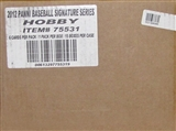 2012 Panini Signature Series Baseball Hobby 15-Box Case