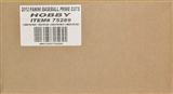 2012 Panini Prime Cuts Baseball Hobby 15-Box Case