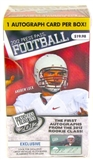 2012 Press Pass Football 3-Pack Blaster  3-Box Lot - One Autograph Per Box!