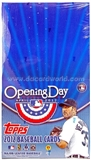 2012 Topps Opening Day Baseball Super Pack Box (24 Packs)