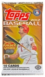 2012 Topps Series 2 Baseball Hobby Pack
