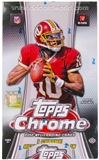 2012 Topps Chrome Football Hobby Box - WILSON & LUCK ROOKIES!