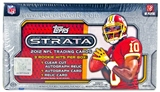 2012 Topps Strata Football Hobby Box