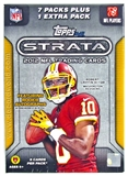 2012 Topps Strata Football 8-Pack Box - WILSON & LUCK ROOKIES!