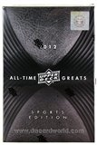 2012 Upper Deck All Time Greats Sports Edition Hobby Box - JORDAN !!!