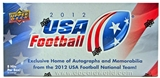 2012 Upper Deck USA Football Hobby Box