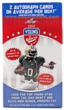 2012 Leaf Draft Young Stars Football 20-Pack Box