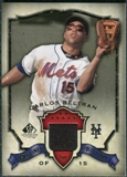2008 Upper Deck SP Legendary Cuts Destined for History Memorabilia #CB Carlos Beltran