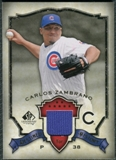 2008 Upper Deck SP Legendary Cuts Destined for History Memorabilia #CZ Carlos Zambrano