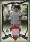 2008 Upper Deck SP Legendary Cuts Destined for History Memorabilia #JT Jim Thome