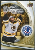 2011/12 Upper Deck National Hockey Card Day USA #16 Tim Thomas SP