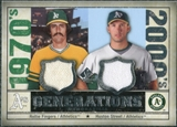 2008 Upper Deck SP Legendary Cuts Generations Dual Memorabilia #FS Rollie Fingers Huston Street