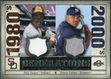 2008 Upper Deck SP Legendary Cuts Generations Dual Memorabilia #GF Tony Gwynn Prince Fielder
