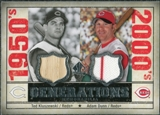 2008 Upper Deck SP Legendary Cuts Generations Dual Memorabilia #KD Ted Kluszewski Adam Dunn