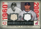 2008 Upper Deck SP Legendary Cuts Generations Dual Memorabilia #KH Harmon Killebrew Travis Hafner