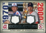 2008 Upper Deck SP Legendary Cuts Generations Dual Memorabilia #NW Phil Niekro Tim Wakefield
