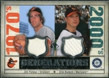 2008 Upper Deck SP Legendary Cuts Generations Dual Memorabilia #PB Jim Palmer Erik Bedard