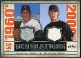 2008 Upper Deck SP Legendary Cuts Generations Dual Memorabilia #PL Gaylord Perry Tim Lincecum