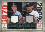 2008 Upper Deck SP Legendary Cuts Generations Dual Memorabilia #RC Nolan Ryan Roger Clemens