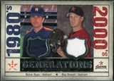 2008 Upper Deck SP Legendary Cuts Generations Dual Memorabilia #RO Nolan Ryan Roy Oswalt