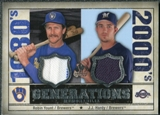 2008 Upper Deck SP Legendary Cuts Generations Dual Memorabilia #YH Robin Yount J.J. Hardy