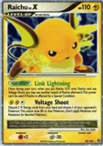 Pokemon Stormfront Single Raichu Lv. X 99/100