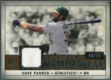 2008 Upper Deck SP Legendary Cuts Legendary Memorabilia Copper Parallel #DP2 Dave Parker /75