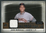 2008 Upper Deck SP Legendary Cuts Legendary Memorabilia Copper Parallel #JU Juan Marichal /75