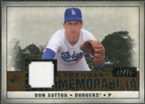 2008 Upper Deck SP Legendary Cuts Legendary Memorabilia Copper #DS Don Sutton /75