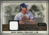 2008 Upper Deck SP Legendary Cuts Legendary Memorabilia Copper Parallel #WB Wade Boggs /75