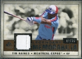 2008 Upper Deck SP Legendary Cuts Legendary Memorabilia Copper Parallel #TR Tim Raines /75