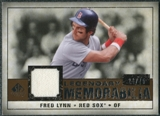 2008 Upper Deck SP Legendary Cuts Legendary Memorabilia Copper #FL Fred Lynn /75