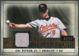 2008 Upper Deck SP Legendary Cuts Legendary Memorabilia Copper #CR Cal Ripken Jr. /75
